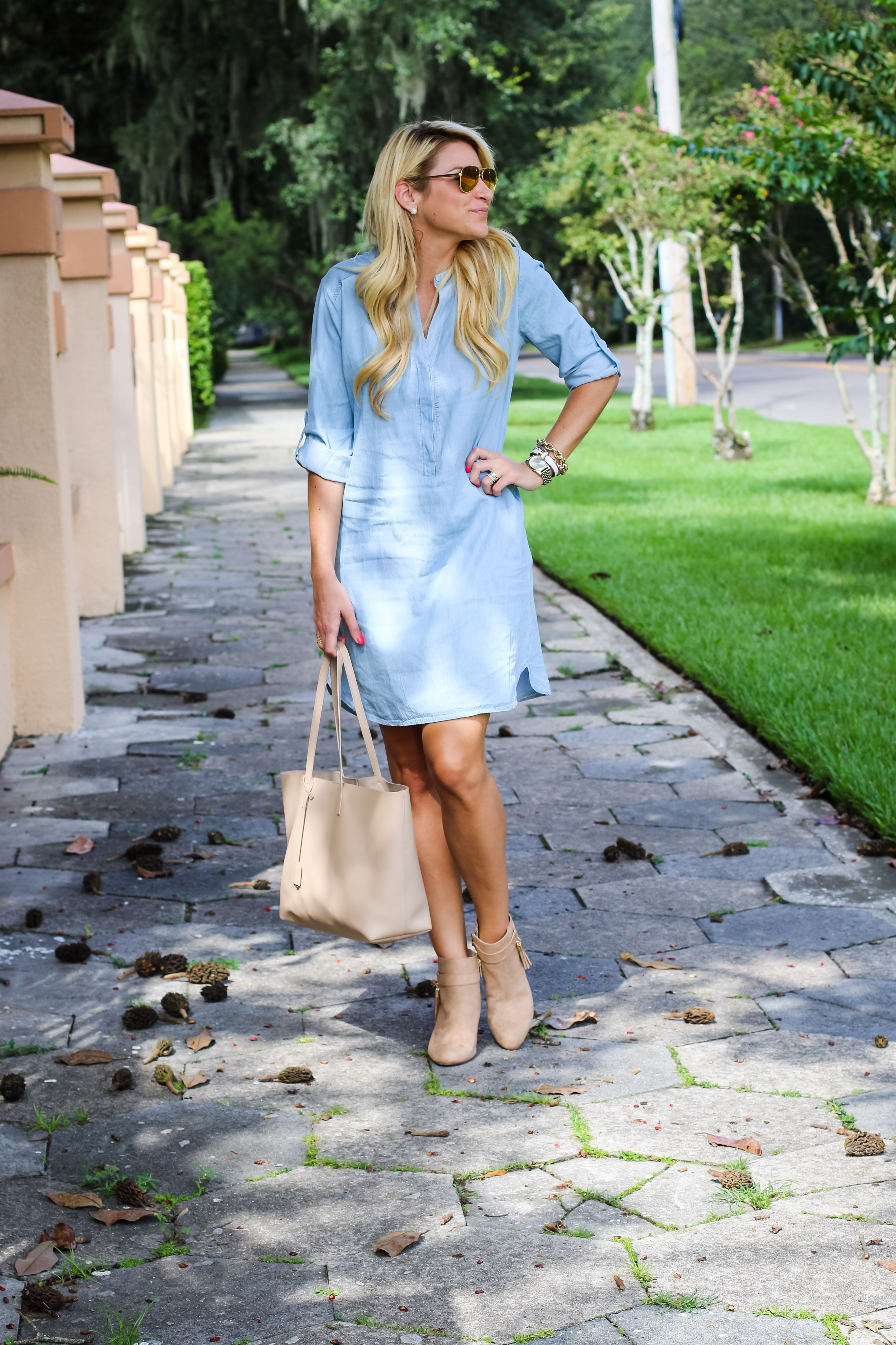 Outfit Fall Chambray Shop Dandy A Florida Based