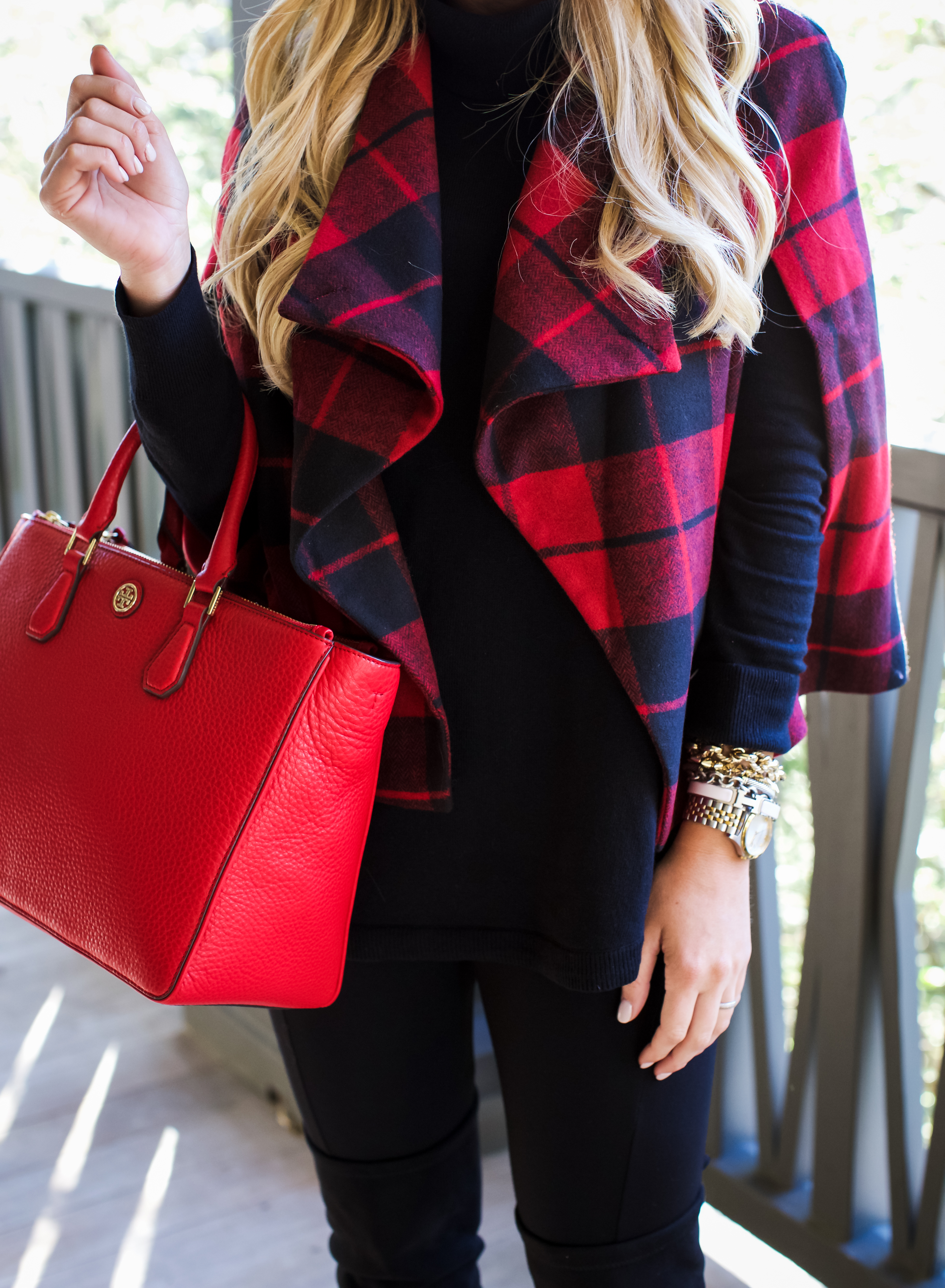 Outfit | Buffalo Plaid Jacket - SHOP DANDY | A florida based style and beauty blog by Danielle