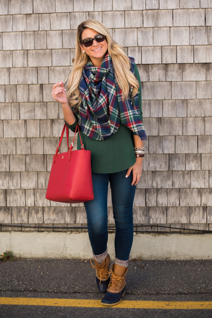 outfit christmas plaid in ogunquit maine shop dandy
