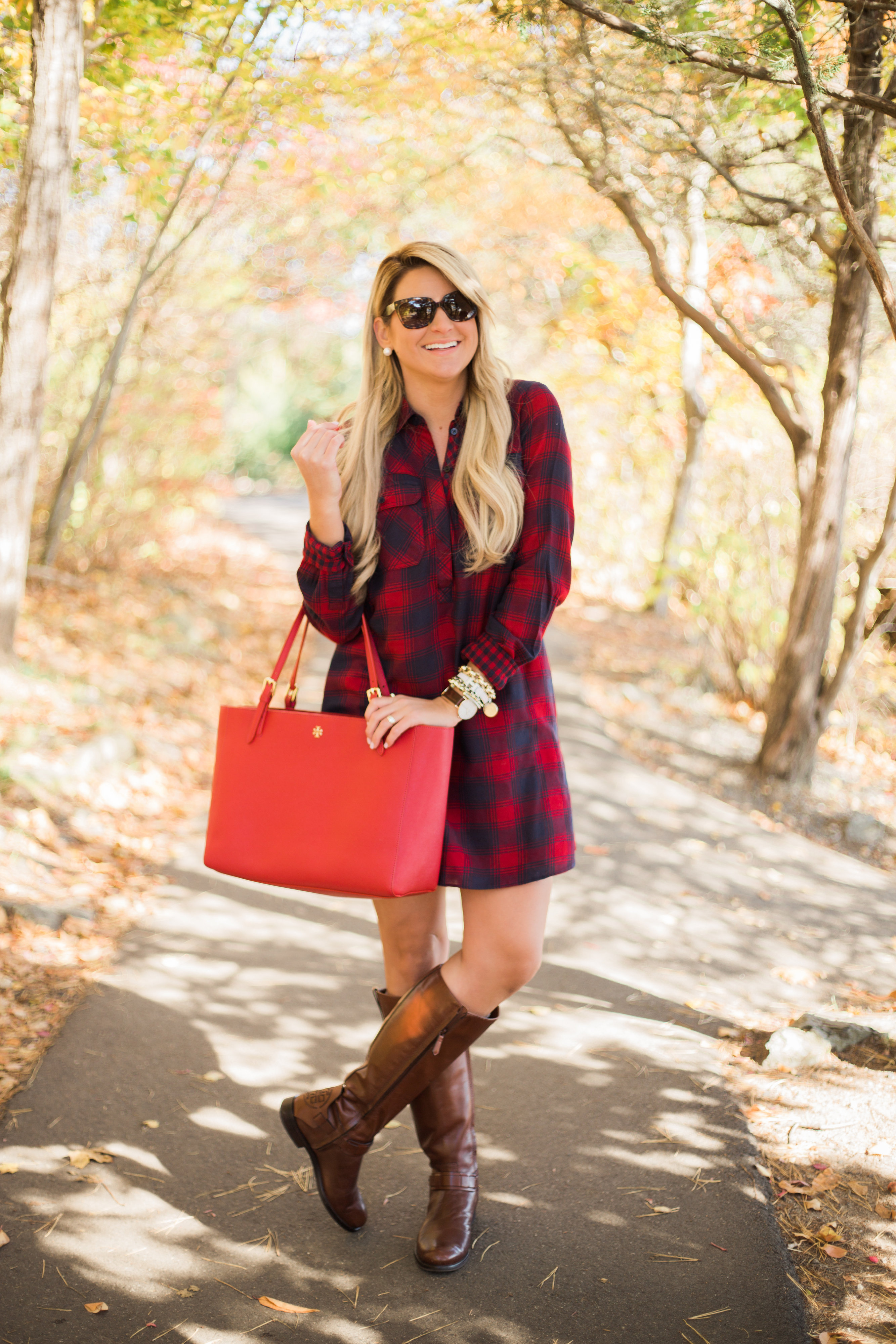 Outfit Fall Flannel Dress Shop Dandy A Florida Based Style And Beauty Blog By Danielle